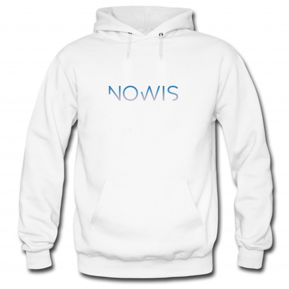 Sweat Nowis Noir logo Blanc