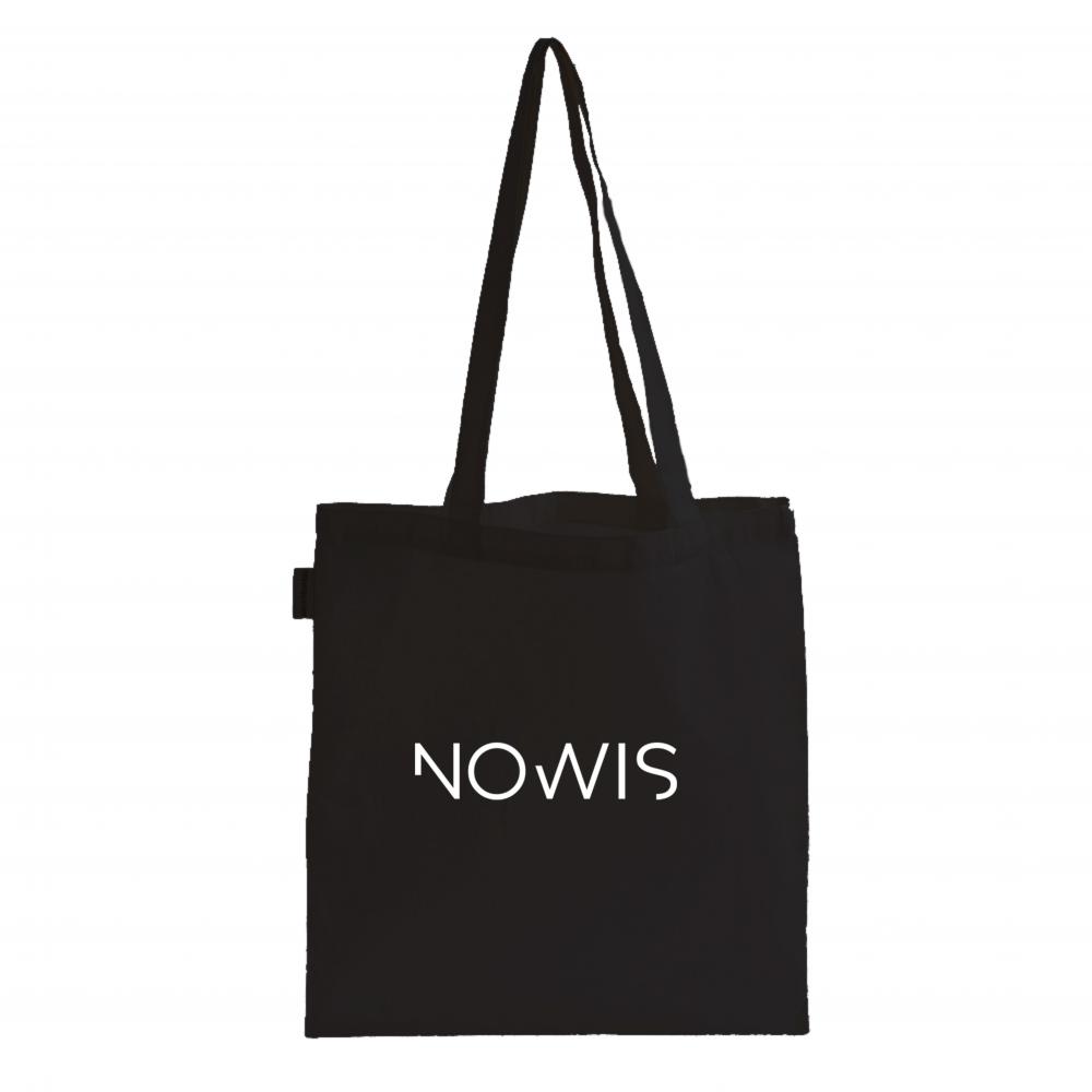 Totebag Nowis Noir logo Blanc